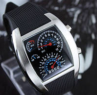 2014 года! Гоночные часы спидометр Street Racer, (бинарные часы спидометр) binar часы купить, фото 1