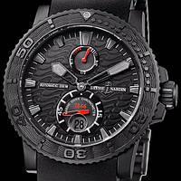 Наручные часы Ulysse Nardin Maxi Marine Black Sea, механические, мужские копия, фото 1