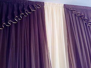Комплек штор из вуали, фото 2