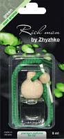 Парфюмированный ароматизатор для авто Rich man by Zhyzhko green