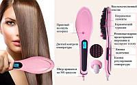 Автоматическая расческа выпрямитель Fast Hair Brush Straightener Dt-9903, фото 1