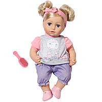 Кукла пупс Baby Annabell Беби Анабель Милая София Sophia so Soft Zapf Creation 794234