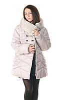 Женская зимняя куртка большого размера Oskar