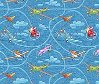 Детский ковролин Самолетики