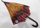 Женский зонт-трость полуавтомат , фото 3