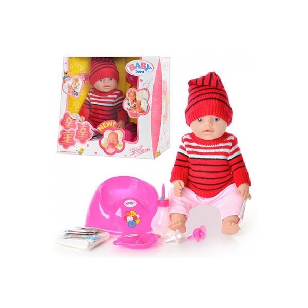 Кукла пупс Baby BORN функциональная 9 функций, 10 аксессуаров
