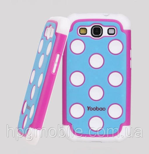 Чехол для Samsung Galaxy S3 i9300 - Yoobao 3 in 1 Protect case