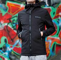 Куртка Soft Shell, чёрная