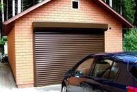 Ролетные ворота для гаража Алютех, профиль AG/77 с пенонаполнителем
