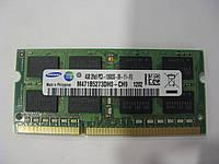 Память SoDIMM Samsung DDR3-1333 4GB 2Rx8 PC3-10600S-09-11-F3