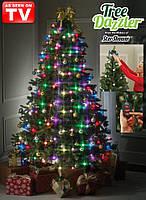 Елочная гирлянда Tree Dazzler 64 LED лампочки купить в Украине