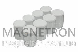 Комплект круглых баночек для йогуртницы Tefal 989641