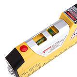 Лазерный уровень EASY FIX Laser Level Pro PR0 3 со встроенной рулеткой, фото 4