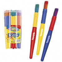 Кисточка Jumbo для рисования утолщенная 20шт Colorino