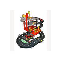 Игровой набор ГАРАЖ FERRARI (3 уровня, 2 машинки 1:43) 18-31204