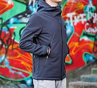 Куртка Soft Shell, синяя
