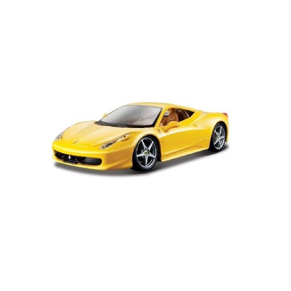 Автомодель - 458 ITALIA (ассорти желтый, красный, 1:24) 18-26003
