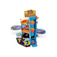 Игровой набор - ПАРКИНГ (3 уровня, 2 машинки 1:43)18-30361