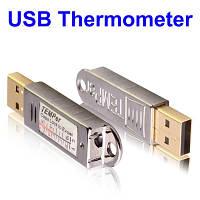USB регистратор температуры ( даталоггер, термологгер ), диапазон температур -55-+125 ℃, фото 1