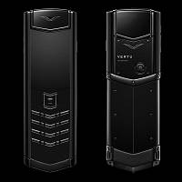 Vertu Signature S Design Pure Black Made in U.K. Русская клавиатура