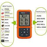 Беспроводной двухканальный термометр (до 100 м) ThermoPro TP-20 (0-300 °С) с таймером и 7 режимами для мяса, фото 4