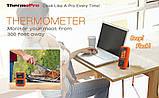 Беспроводной двухканальный термометр (до 100 м) ThermoPro TP-20 (0-300 °С) с таймером и 7 режимами для мяса, фото 6