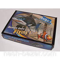 Летающая рыба на управлении клоун и акула, подарок ребенку, пульт для управления, наполнена гелием