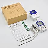 Беспроводной двухканальный термометр (до 100 м) ThermoPro TP-12 (0-300 °С) с таймером, фото 9
