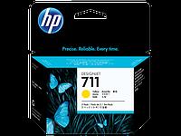 Картридж HP DJ No.711 DesignJet 120/520 Yellow 3-Pack (CZ136A)