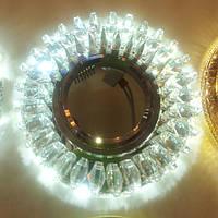 Точечный светильник Feron CD2540 MR16 с LED подсветкой