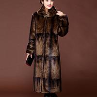 Женская натуральная шуба. Модель 61607