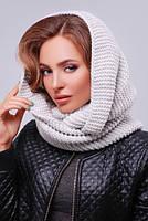 Снуд 299_1 шарф снуд, шарф снуд вязанный теплый, фото 1