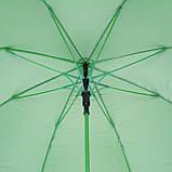 Яскрава двоколірна парасолька-тростина, фото 7