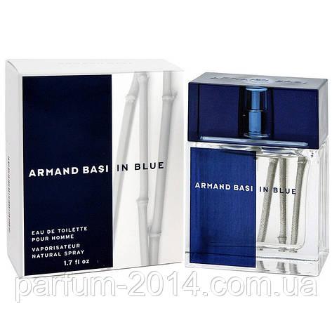 Мужская туалетная вода Armand Basi in Blue + 5 мл в подарок (реплика), фото 2