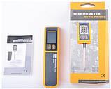 Цифровой термометр для мяса со щупом VA6502 (-50С …+270 С), фото 5
