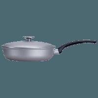 Сковорода литая алюминиевая с крышкой Talko, 26 см