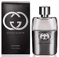 Мужская туалетная вода Gucci Guilty Pour Homme + 5 мл в подарок