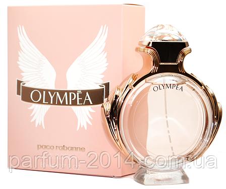 Женская парфюмированная вода Paco Rabanne Olympea + 5 мл в подарок (реплика), фото 2