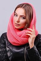 Снуд 299 шарф снуд, шарф снуд вязанный теплый