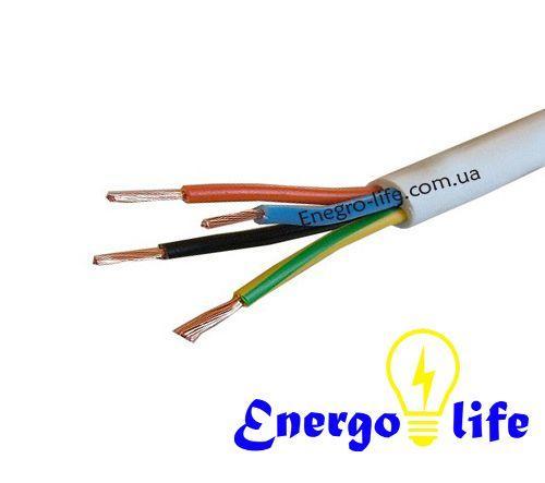 Провод  ПВС 4х1.5 (ГОСТ) для присоединения электроприборов и электроинструмента - Energo Life в Днепропетровской области