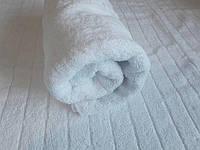 Полотенце пл 460 махровое жаккардовое плотное Туркменистан 50х100 белое
