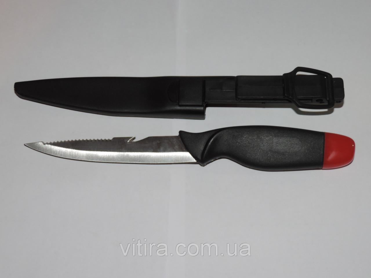 Нож для подводной охоты и рыбалки. Стропорез и серейтор.