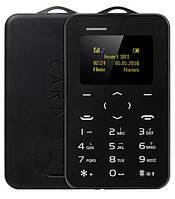 Мобильный мини телефон - кредитка AIEK C6 BLACK