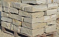 Бутовый камень формованный песчаник