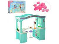 Мебель для кукол кухня с аксессуарами