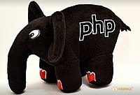 PHP Слон (Черный с красными ногтями) (219679)