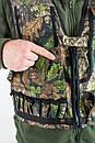 Жилет камуфляжный Зеленый Дуб для охоты    , фото 2