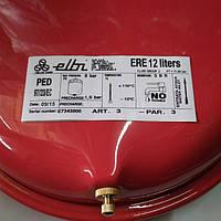 Гидроаккумулятор, расширительный бак для отопления, 12л, Elbi ERP-320/12 (плоский), плоский, Elbi