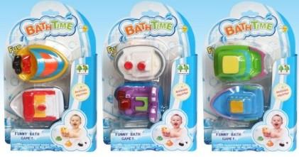 Набор резиновых игрушек для ванной Катер