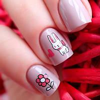 Ушастый маникюр или заяц/кроль